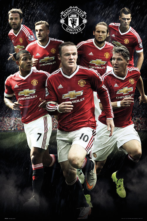 Poster Manchester United FC 180852