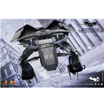 Batman The Dark Knight Rises Movie Masterpiece Compact Fahrzeug 1/12 The Bat Deluxe 27 cm
