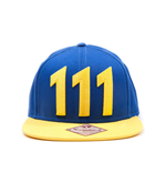 Fallout 4 Snap Back Hip Hop Cap Vault 111 Yellow