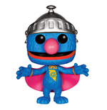 Sesamstrasse POP! TV Vinyl Figur Super Grover 9 cm