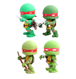Teenage Mutant Ninja Turtles Action Vinyl Figuren 4er-Pack Original Comic 8 cm