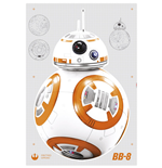 Star Wars Episode VII Wandaufkleber BB-8 100 x 70 cm