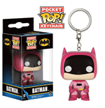 DC Comics Pocket POP! Vinyl Schlüsselanhänger 75th Anniversary Batman Pink 4 cm