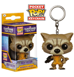 Guardians of the Galaxy Pocket POP! Vinyl Schlüsselanhänger Rocket Raccoon 4 cm