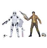 Star Wars Black Series Actionfiguren Doppelpack 2015 Poe Dameron & Stormtrooper Exclusive 15 cm