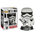 Star Wars Episode VII POP! Vinyl Wackelkopf-Figur First Order Stormtrooper with Shield 9 cm
