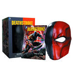 DC Comics Replik Deathstroke Maske & Buch Set