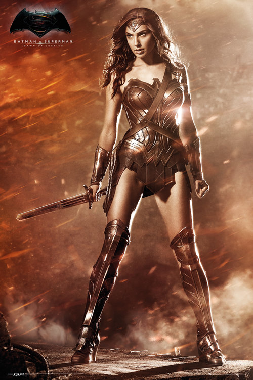 Poster Batman vs Superman Wonder Woman