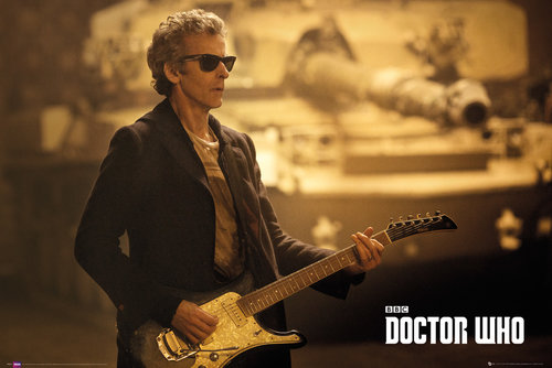 Poster Doctor Who  - Guitar Landscape