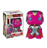 Avengers Age of Ultron POP! Vinyl Wackelkopf-Figur Vision (Metallic) Limited Edition 10 cm