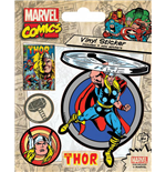 Marvel Comics Vinyl Sticker Pack Thor (10)