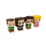The Big Bang Theory Sammelfiguren 4er-Pack Pixel Set 1 7 cm
