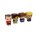 The Big Bang Theory Sammelfiguren 4er-Pack Pixel Set 2 7 cm