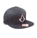 Kappe Assassins Creed  Syndicate Unisex Bronze Baseball in standard Grosse im schwarz.