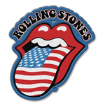 Aufnäher The Rolling Stones - Us Tongue