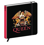 Notizbuch Queen - Crest