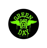 Aufnäher (Patch) Green Day: Neon Wings