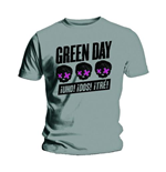 T-Shirt Green Day: Three Heads Better Than One für Männer