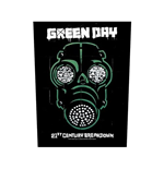 Aufnäher Green Day Back Patch: Gas Mask