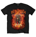 T-Shirt Five Finger Death Punch: Burn in Sin für Männer