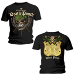 T-Shirt Five Finger Death Punch: Warhead für Männer