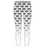 Leggings Five Finger Death Punch: Fasion Leggins: Knuckleduster