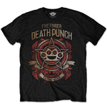 T-Shirt Five Finger Death Punch: Badge of Honour für Männer