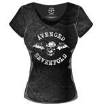 T-Shirt Avenged Sevenfold für Frauen Classic Death Bat
