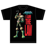 T-Shirt Anthrax : I am the Law - Mann
