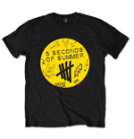 5 seconds of summer T-Shirt für Männer - Design: Scribble Logo