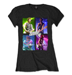 T-Shirt 5 seconds of summer Live in Colours für Frauen