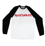 Langärmeliges T-Shirt Iron Maiden Logo