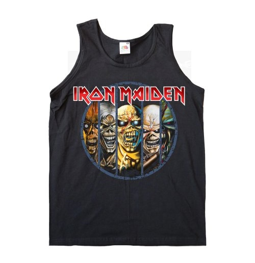 Iron Maiden Top für Frauen - Design: Evolution