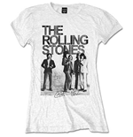 T-Shirt The Rolling Stones für Frauen. Est. 1962 Group Photo