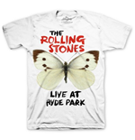 T-Shirt The Rolling Stones Butterfly Hyde Park