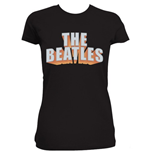 The Beatles T-Shirt für Frauen - Design: 3D Logo