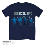 T-Shirt Beatles Help!