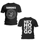 T-Shirt Ramones Hey Ho