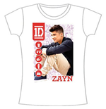 T-Shirt One Direction für Frauen 1D Zahn Symbol Field