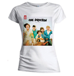 T-Shirt One Direction für Frauen UP all night