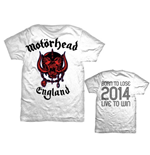 T-Shirt Motorhead - World Cup England
