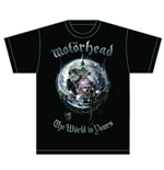 T-Shirt Motorhead The World is your Album