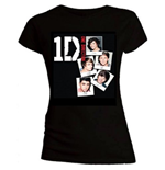 T-Shirt One Direction fur Frauen Photo Stack