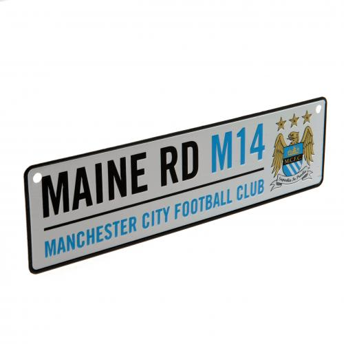 Schild Manchester City FC Main Road