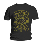 T-Shirt Mumford And Sons Pistol Label