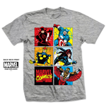 T-Shirt Marvel Superheroes Montage