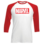 langärmeliges T-Shirt Marvel Superheroes Marvel Logo