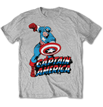 T-Shirt Captain America Simple Captain America