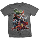 T-Shirt Marvel Superheroes Big Group