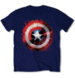 T-Shirt Captain America Splat Shield
